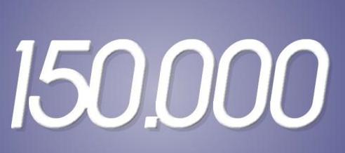 1954. 150.000ste baby